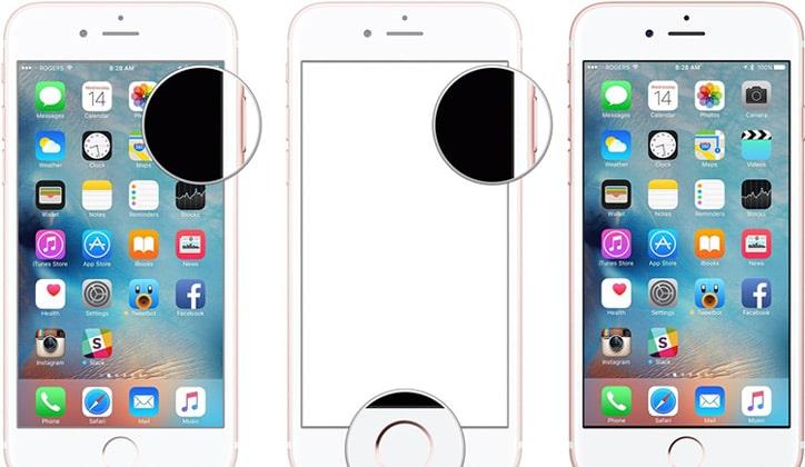 كيفية إلتقاط صور سكرين شوت Screenshot من هواتف الأيفون iPhone 2