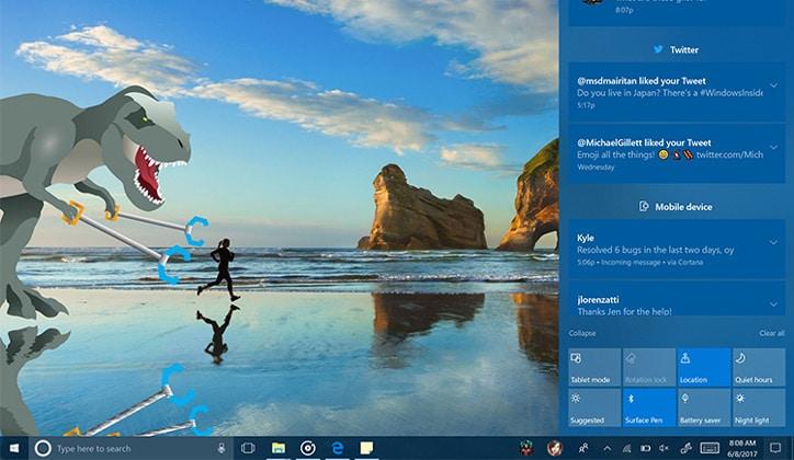 تعرف على أبرز مميزات تحديث الويندوز الجديد Windows 10 Fall Creators Update 11