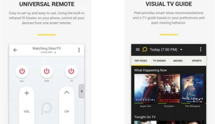 أفضل 12 تطبيق ريموت كنترول على أجهزة الأندرويد للتحكم في التلفاز TV 13