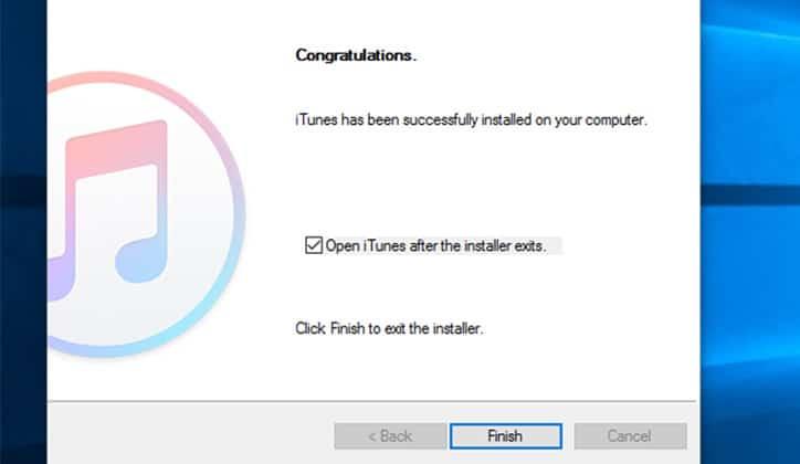 طريقة تحميل واستخدام برنامج iTunes على ويندوز 10 3