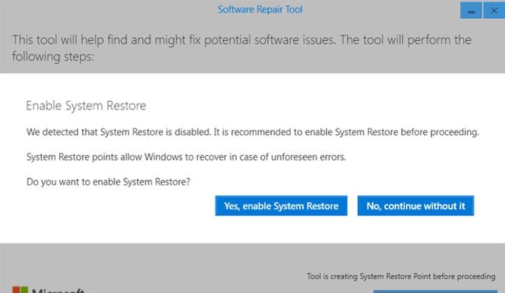 تعرف على أداة Software Repair Tool لحل مشاكل ويندوز 10 3