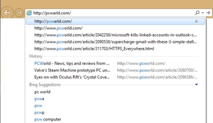 كيفية مسح المواقع التي زرتها من شريط العنوان بمتصفح كروم وفايرفوكس وإنترنت إكسبلورر 3