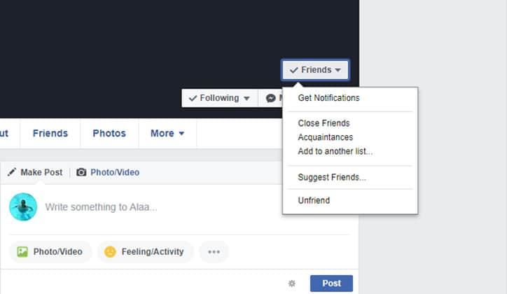 كيفية منع التعليقات على المنشورات في الفيس بوك Facebook 4