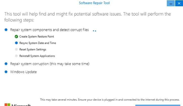 تعرف على أداة Software Repair Tool لحل مشاكل ويندوز 10 4