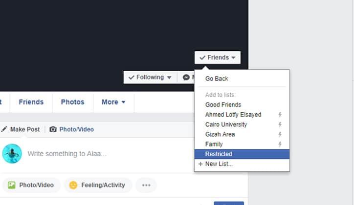 كيفية منع التعليقات على المنشورات في الفيس بوك Facebook 5