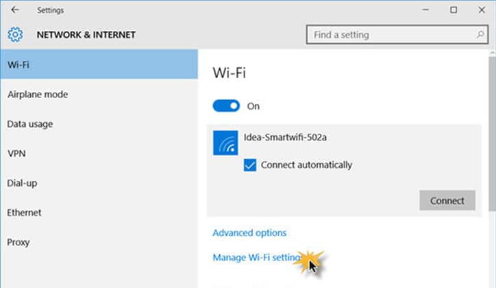 كيفية حل مشكلة Can't Connect To This Network في ويندوز Windows 10 6