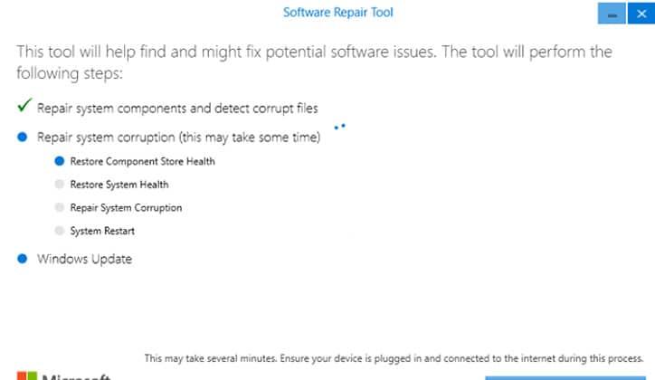 تعرف على أداة Software Repair Tool لحل مشاكل ويندوز 10 5