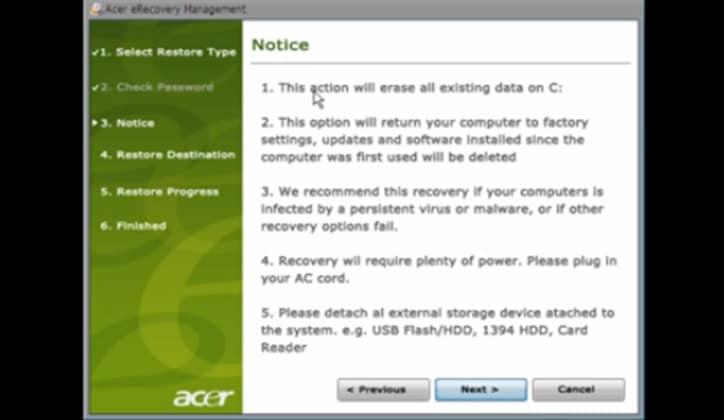 كيفية إعادة ضبط المصنع للكمبيوتر في ويندوز 7 و8 و10 5