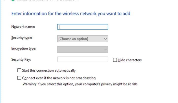 كيفية حل مشكلة Can't Connect To This Network في ويندوز Windows 10 5