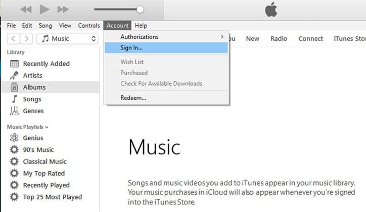 طريقة تحميل واستخدام برنامج iTunes على ويندوز 10 5