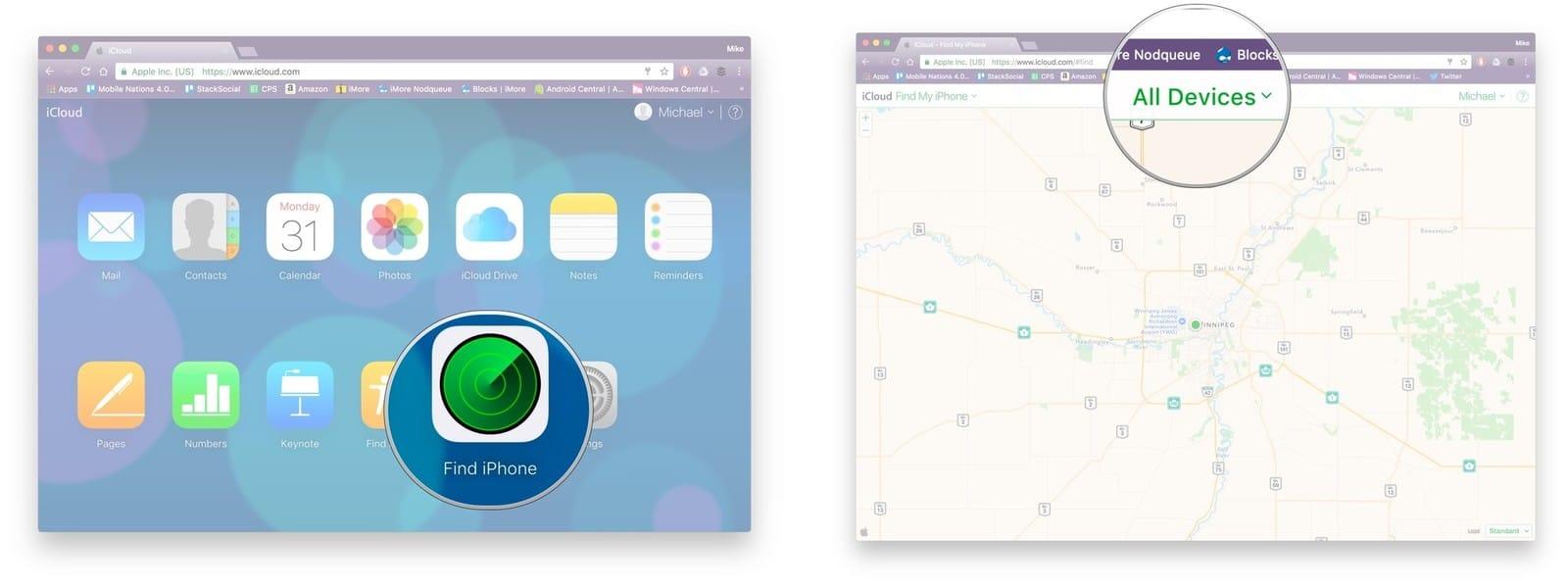كيفية البحث والعثور على هاتفك المفقود أو المسروق – ويندوز وأندرويد وأيفون 4