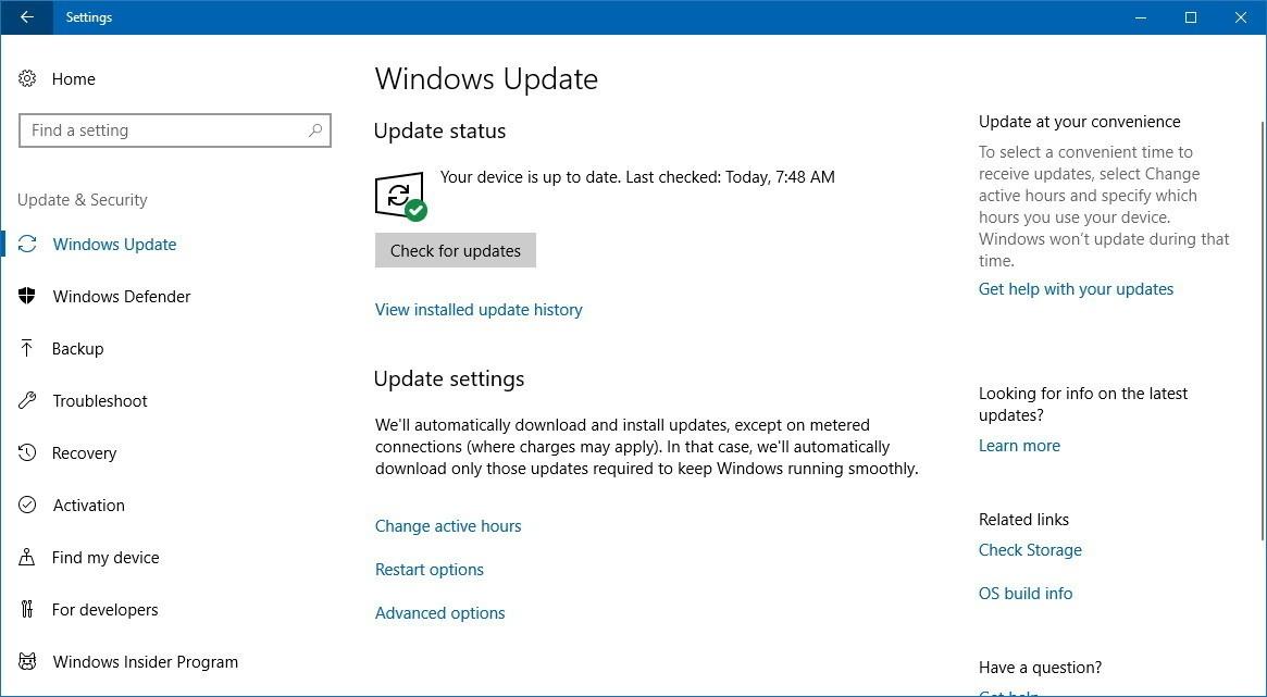 سارع بالحصول على تحديث الويندوز الجديد Windows 10 Fall Creators Update 8