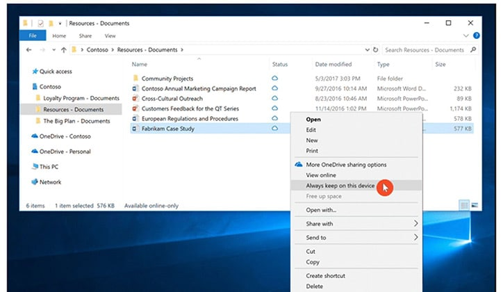 تعرف على أبرز مميزات تحديث الويندوز الجديد Windows 10 Fall Creators Update 8