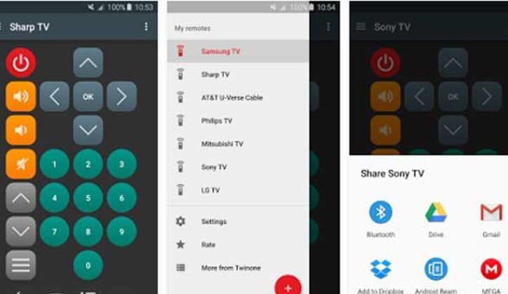 أفضل 12 تطبيق ريموت كنترول على أجهزة الأندرويد للتحكم في التلفاز TV 9