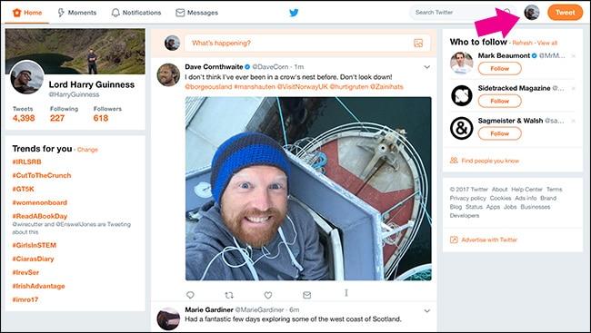 كيفية تشغيل الوضع الليلي في تويتر Twitter في الأندرويد والأيفون والويندوز 10