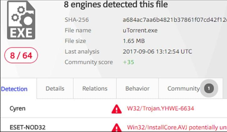 كيفية التأكد من سلامة الملفات وفحصها قبل تحميلها من الإنترنت 1