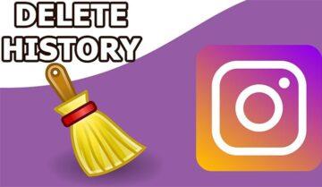 كيفية مسح سجل البحث History في الإنستجرام Instagram