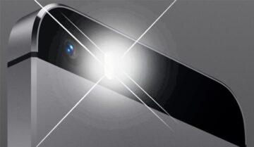 كيفية حل مشكلة توقف فلاش كاميرا الأيفون iPhone عن العمل