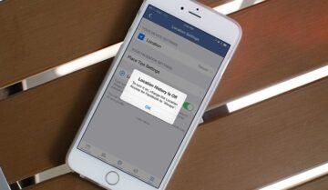 طريقة إيقاف خاصية تحديد الموقع على الفيس بوك Facebook