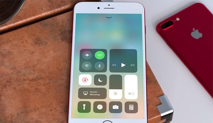 كيفية تعديل مركز التحكم Control Center في نظام iOS 11 الجديد بالأيفون 1