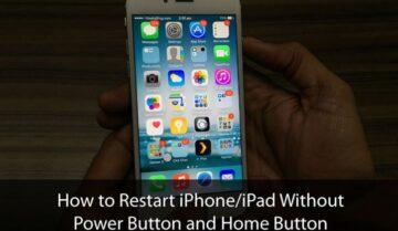 طريقة عمل ريستارت Restart للأيفون بدون زر الباور Power