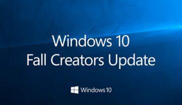 سارع بالحصول على تحديث الويندوز الجديد Windows 10 Fall Creators Update
