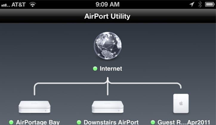 حل مشكلة بطئ الواي فاي بسبب تداخل شبكات الواي فاي القريبة باستخدام تطبيق Airport Utility 1