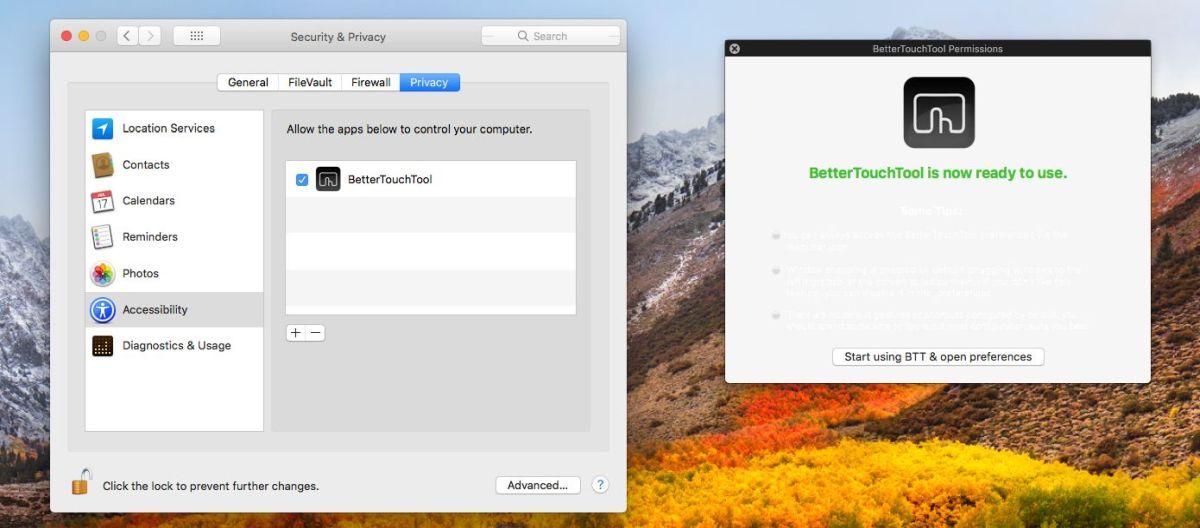 طريقة إضافة زر جديد في شريط الـ TouchBar في أجهزة الماك MacOS 2