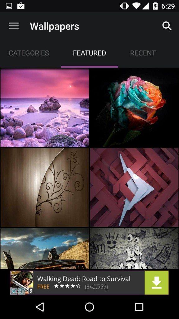 أفضل 5 تطبيقات صور خلفية Wallpapers لأجهزة الأندرويد 2