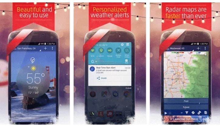 أفضل 4 تطبيقات لمعرفة أحوال الطقس Weather لأجهزة الأندرويد 2