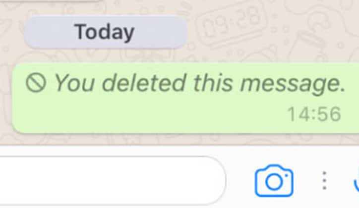 طريقة حذف رسائل الواتس آب WhatsApp من الطرفين 2