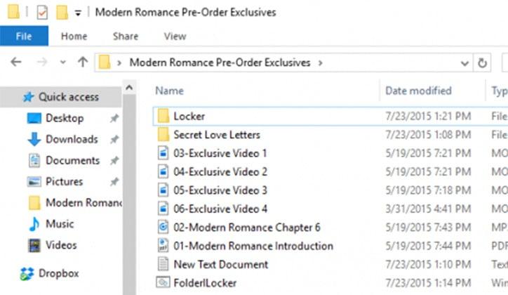 كيفية عمل كلمة سر لمجلد Folder بدون برامج على ويندوز 10 11
