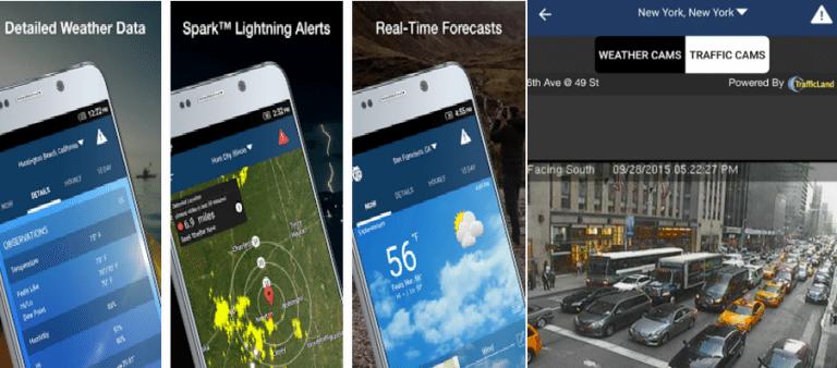 أفضل 4 تطبيقات لمعرفة أحوال الطقس Weather لأجهزة الأندرويد 3