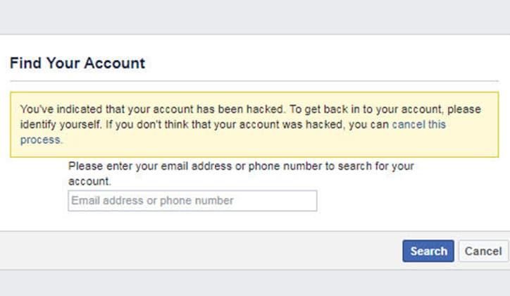 كيفية استرجاع حساب الفيس بوك فيسبوك المسروق 3