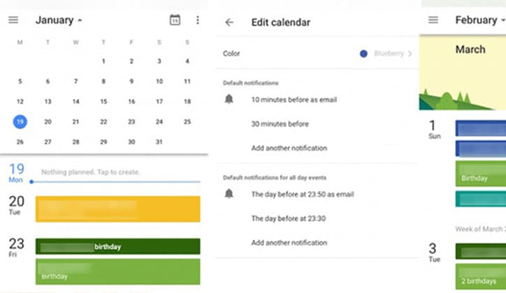 أحصل الأن على تحديث تقويم جوجل الجديد Google Calendar على الويب 2