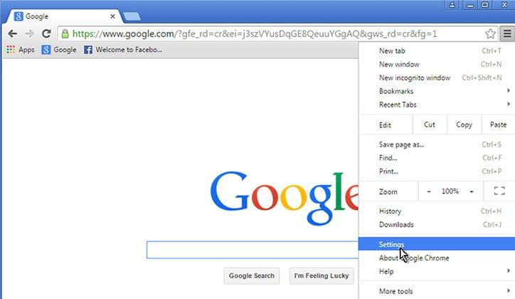 كيفية حل مشكلة الشاشة البيضاء في متصفح جوجل كروم Google Chrome 4