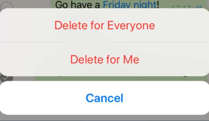 طريقة حذف رسائل الواتس آب WhatsApp من الطرفين 4