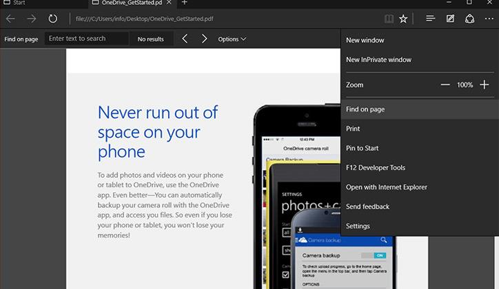 تعرف على أهم 5 خواص جديدة لمتصفح مايكروسوفت إيدج في تحديث Fall Creators Update 4