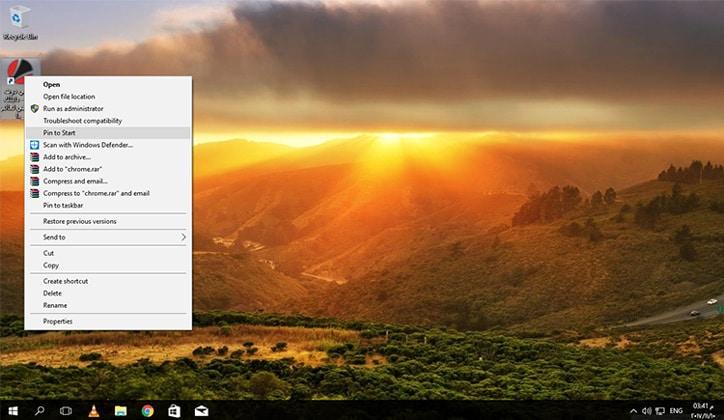كيفية تثبيت المواقع في شريط المهام بمتصفح جوجل كروم Google Chrome 4