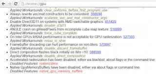 كيفية حل مشكلة Rats WebGL hit a Snag Error في متصفح جوجل كروم 5