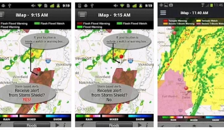 أفضل 4 تطبيقات لمعرفة أحوال الطقس Weather لأجهزة الأندرويد 5