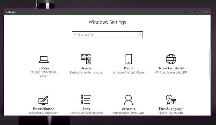 طريقة تعديل وتغيير لون ظل النوافذ في ويندوز Windows 10 5