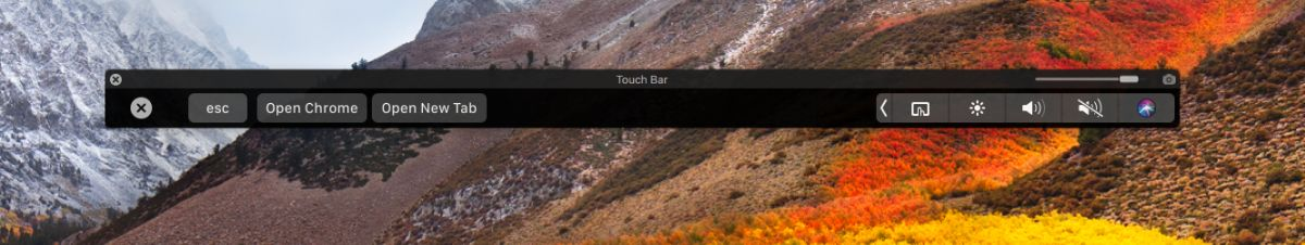 طريقة إضافة زر جديد في شريط الـ TouchBar في أجهزة الماك MacOS 6