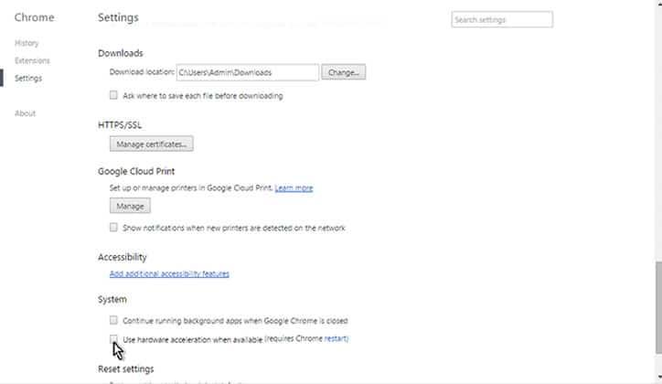 كيفية حل مشكلة الشاشة البيضاء في متصفح جوجل كروم Google Chrome 6