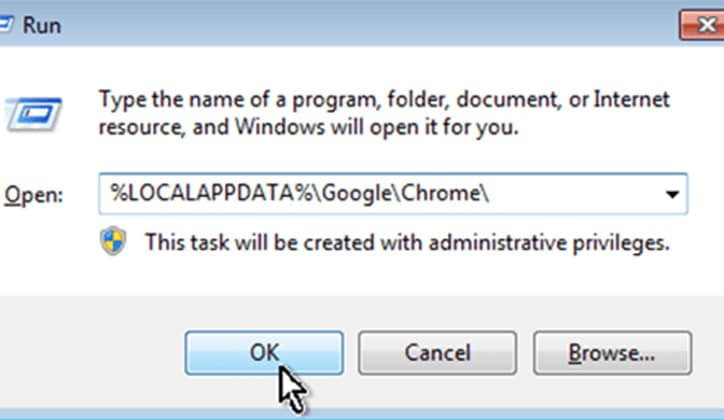 كيفية حل مشكلة الشاشة البيضاء في متصفح جوجل كروم Google Chrome 7
