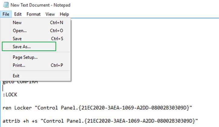 كيفية عمل كلمة سر لمجلد Folder بدون برامج على ويندوز 10 7