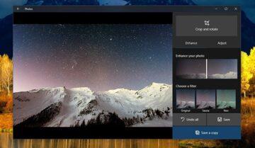 كيفية تحسين جودة الصور باستخدام برنامج Photos App في ويندوز 10