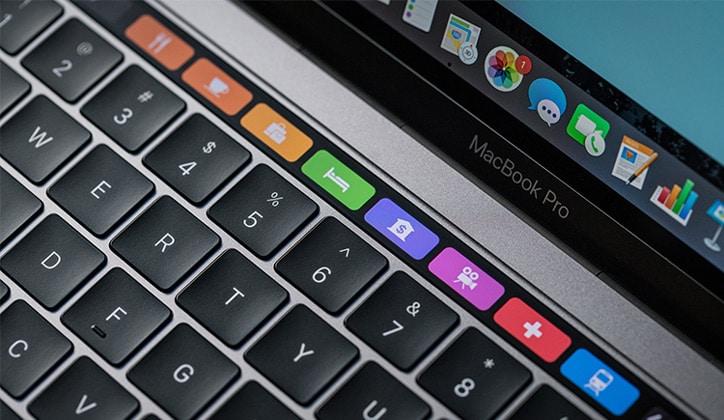 طريقة إضافة زر جديد في شريط الـ TouchBar في أجهزة الماك MacOS 1