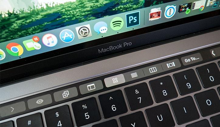 كيفية إيقاف تشغيل التاتش بار TouchBar في أجهزة الماك بوك برو MacBook Pro 1