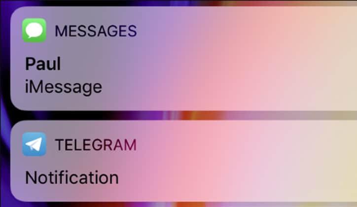 كيفية إخفاء محتوى الإشعارات على الشاشة في تحديث الأي أو إس iOS 11 1